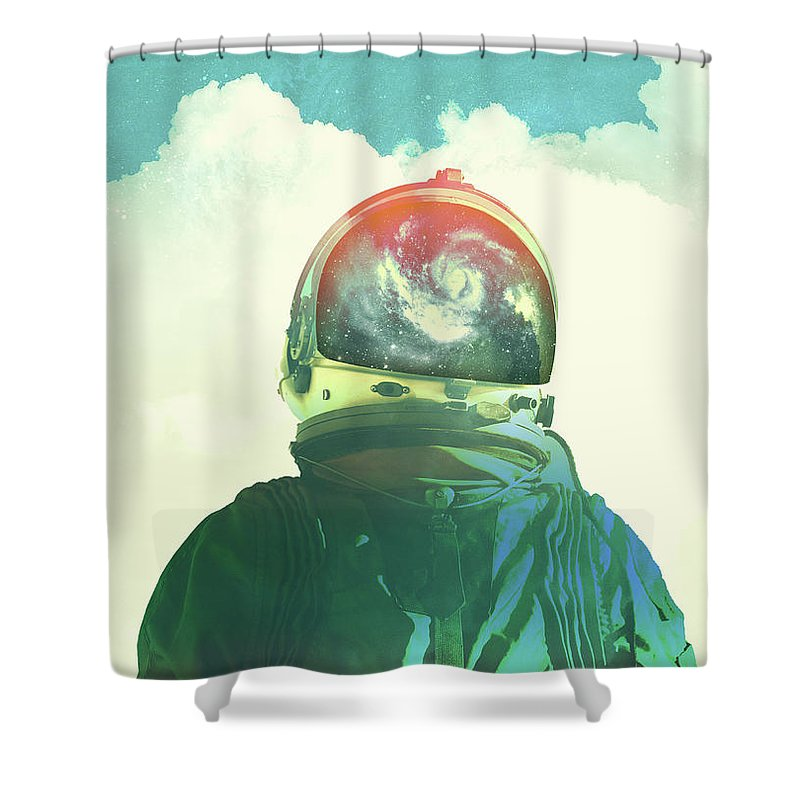Astronauts Shower Curtains
