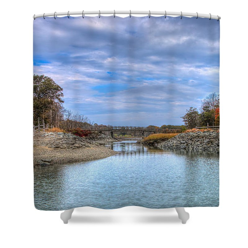 Shower Curtain featuring the photograph Good Morning by David Henningsen