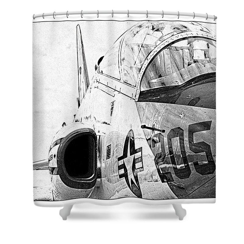 T45 Shower Curtain featuring the photograph Goshawk Portrait by Ricky Barnard