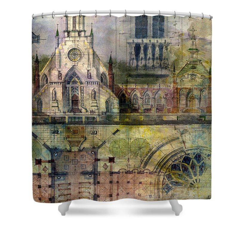 Churches Shower Curtains