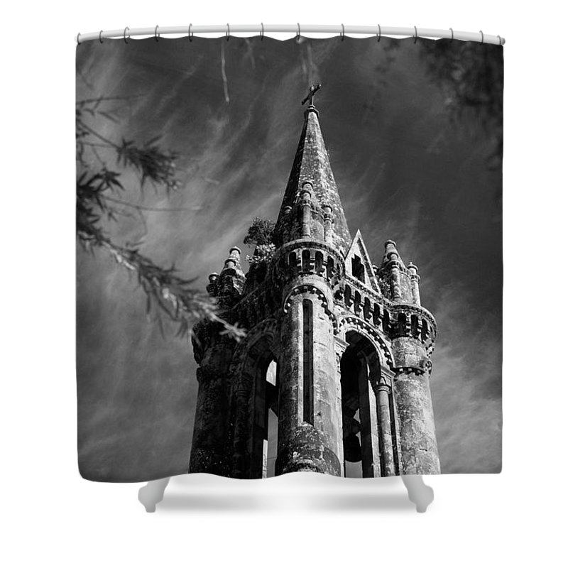 Azores Shower Curtain featuring the photograph Gothic Style by Gaspar Avila