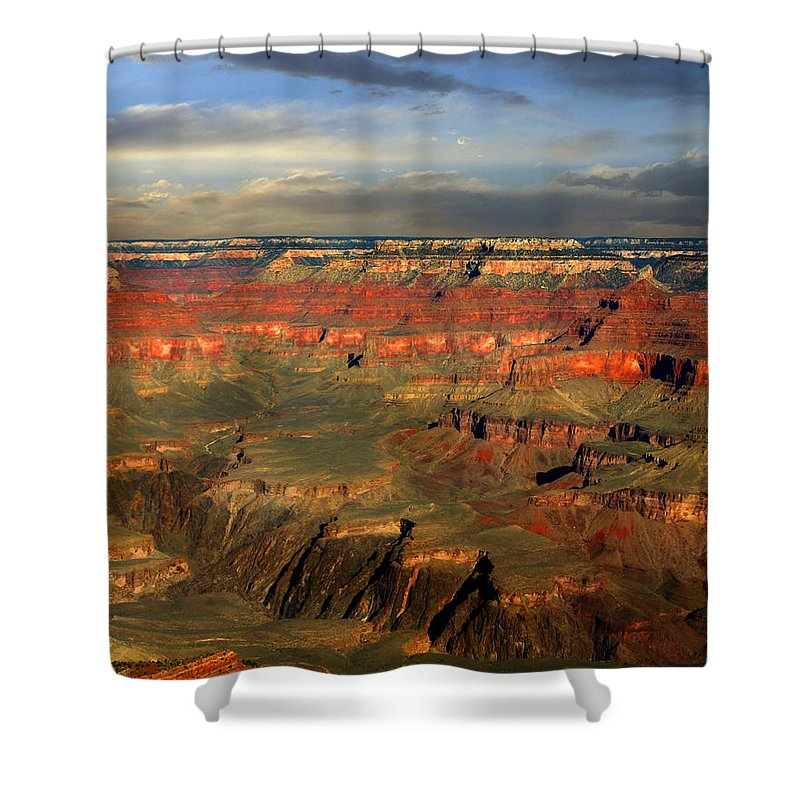 Grand Canyon Shower Curtain featuring the photograph Grand Canyon by Anthony Jones