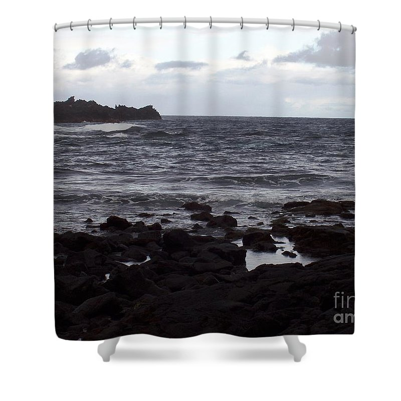 Water Shower Curtain featuring the photograph Grayscale by Deborah Crew-Johnson