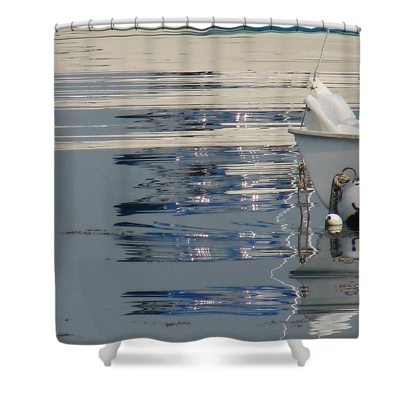 Ocean Shower Curtain featuring the photograph Great Day For Sailing by Kelly Mezzapelle
