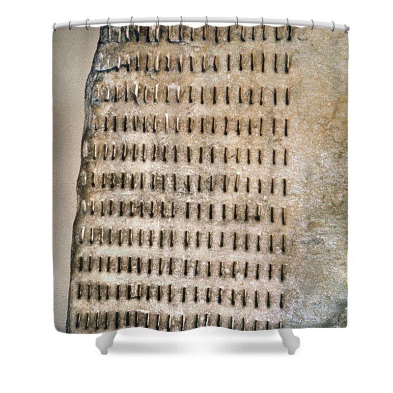 5th Century B.c. Shower Curtain featuring the photograph Greece: Jury Duty by Granger
