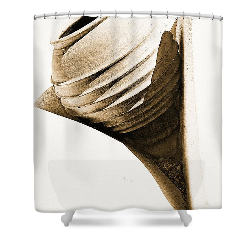 Greek Pottery Shower Curtains