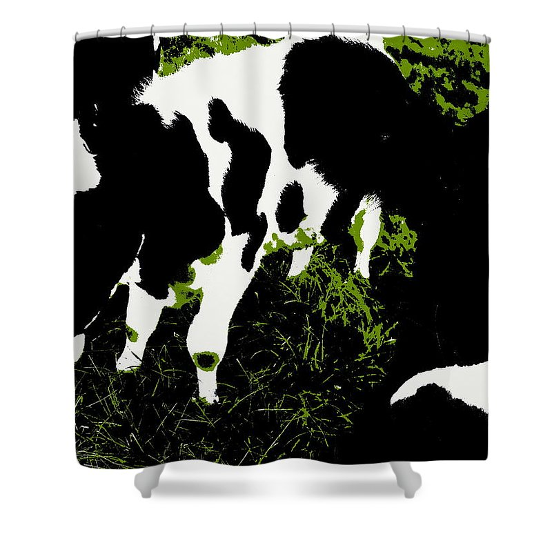 Still Life Shower Curtain featuring the photograph Greener Pastures by Ed Smith