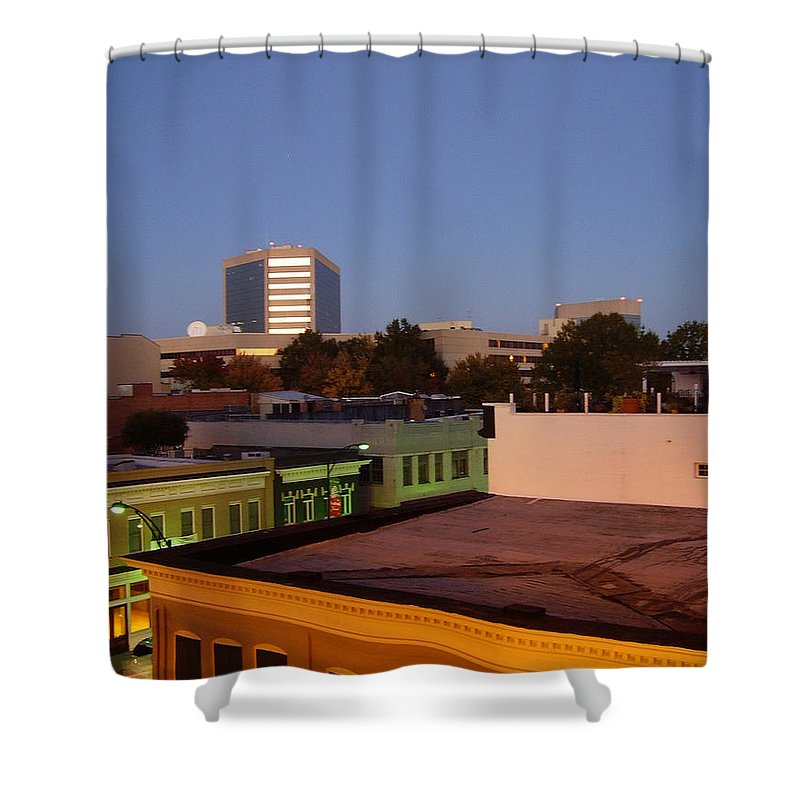 Greenville Shower Curtain featuring the photograph Greenville by Flavia Westerwelle