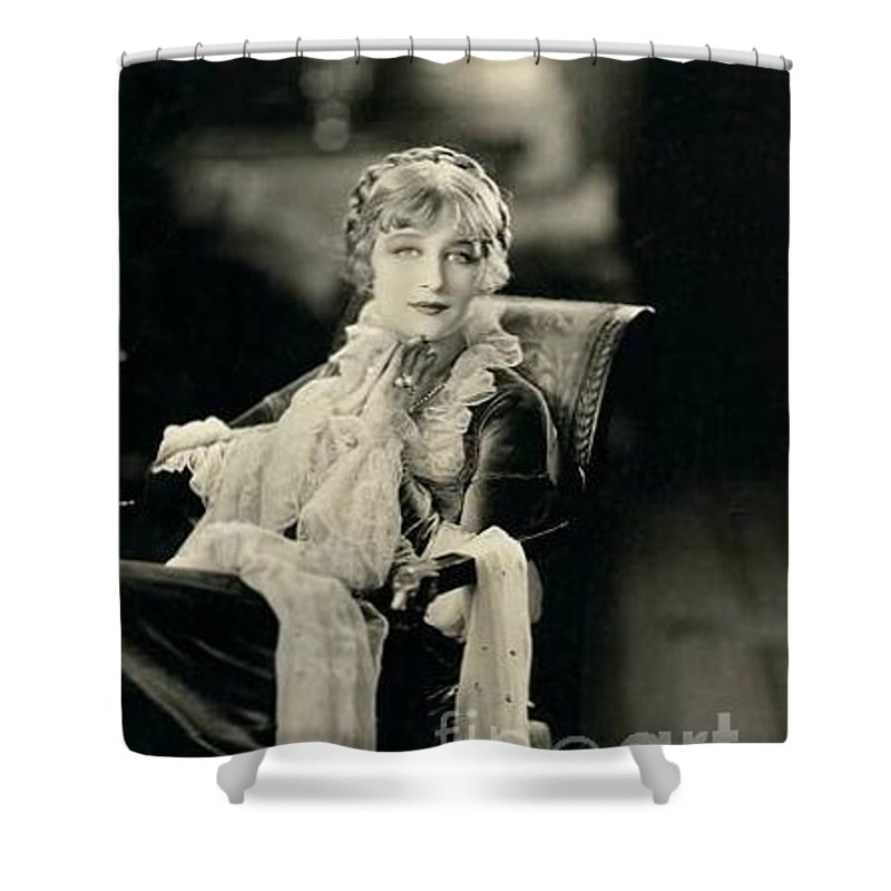 Greta Nissen Shower Curtain featuring the photograph Greta Nissen by Kay Shackleton