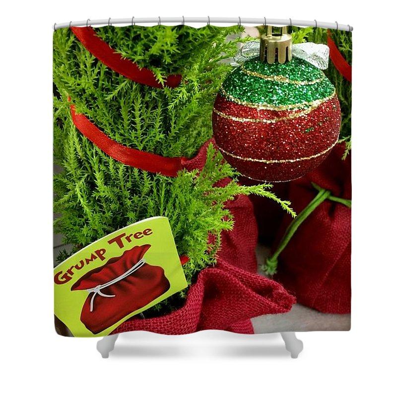 Grinch Grump Tree Shower Curtain for Sale by Patricia E Sundik