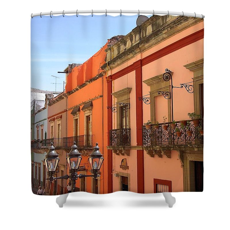 Charity Shower Curtain featuring the photograph Guanajuato by Mary-Lee Sanders
