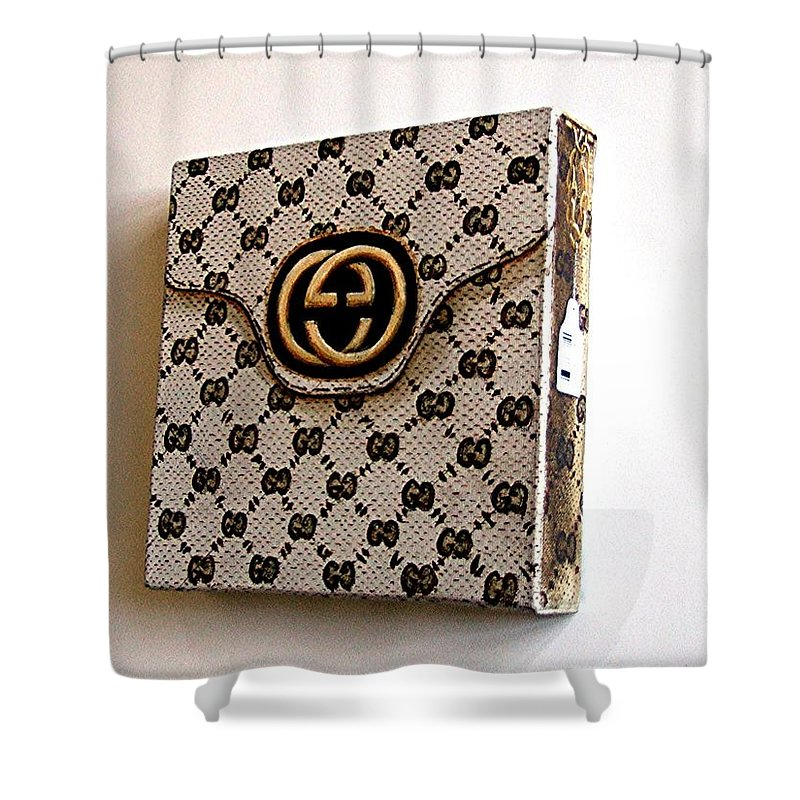 Gucci Bag Shower Curtain For Sale By Tony Gunning