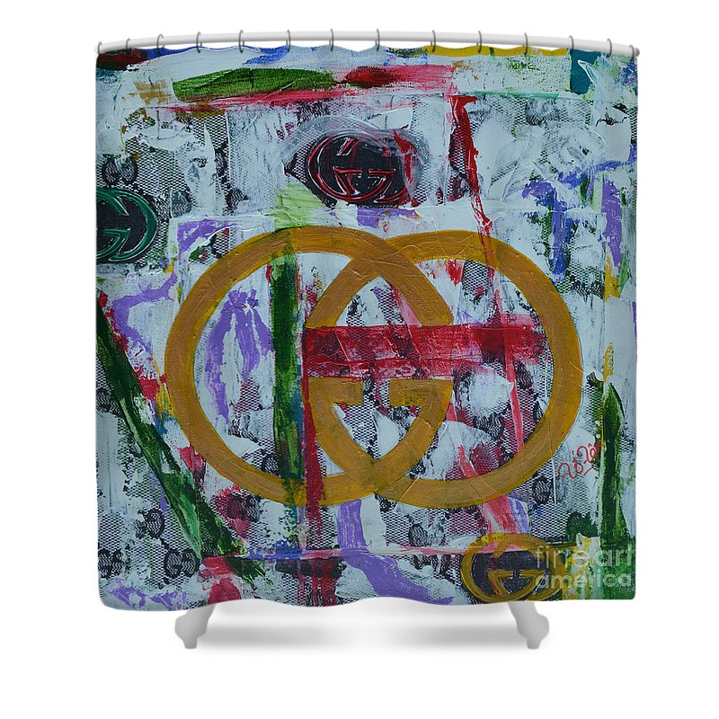 Gucci Logo Shower Curtain For Sale By To Tam Gerwe