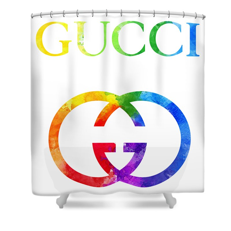 2b64c7f9165 Gucci Watercolor Shower Curtain for Sale by Vadim Pavlov