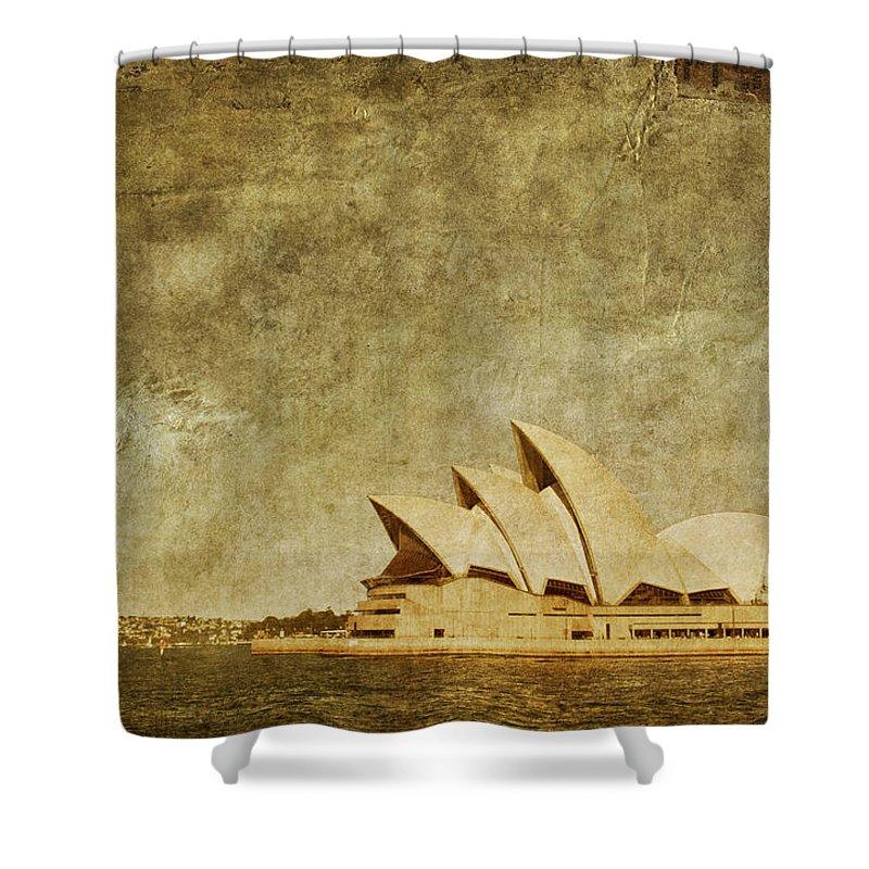 Landmark Photographs Shower Curtains
