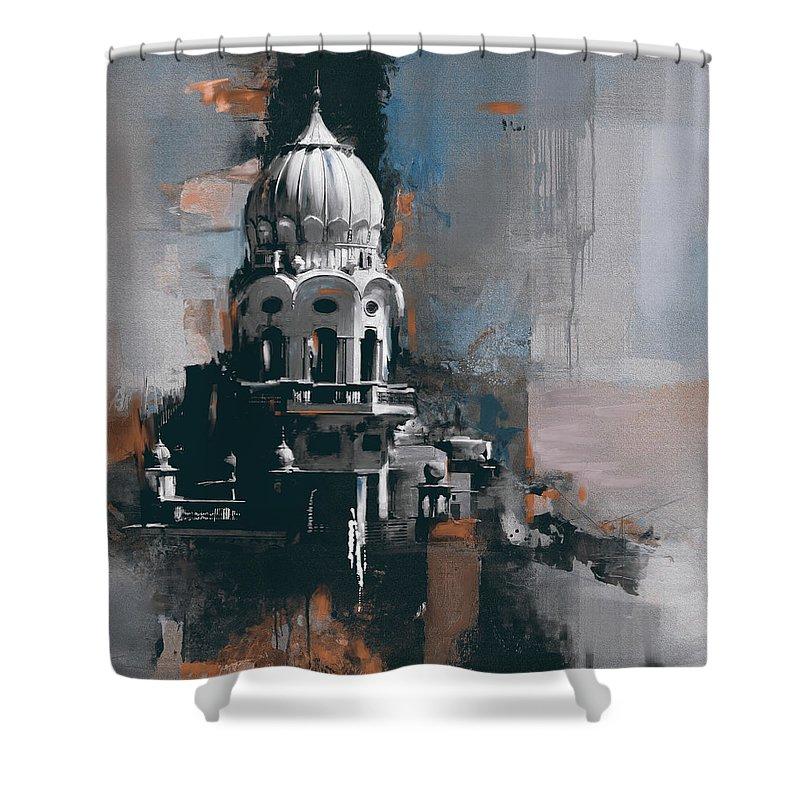 Sikh Art Shower Curtains