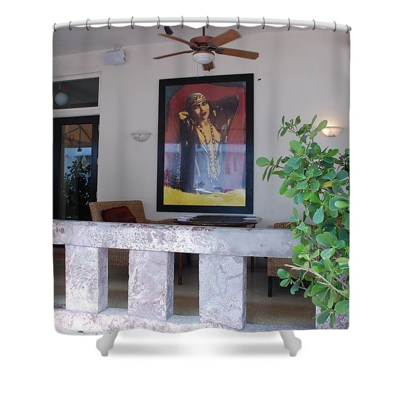 Art Shower Curtain featuring the photograph Gypsy Lady by Rob Hans