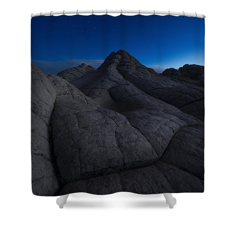 Arizona Shower Curtain featuring the photograph Half-light by Dustin LeFevre