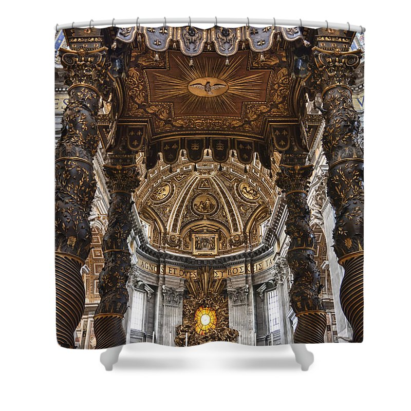 Italy Shower Curtain featuring the photograph Hallowed Beauty by Janet Fikar