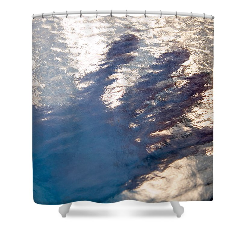 Clay Shower Curtain featuring the photograph Hand Out by Clayton Bruster