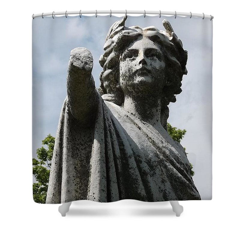 Shower Curtain featuring the photograph Handless Pleaurant by Ken Naegele