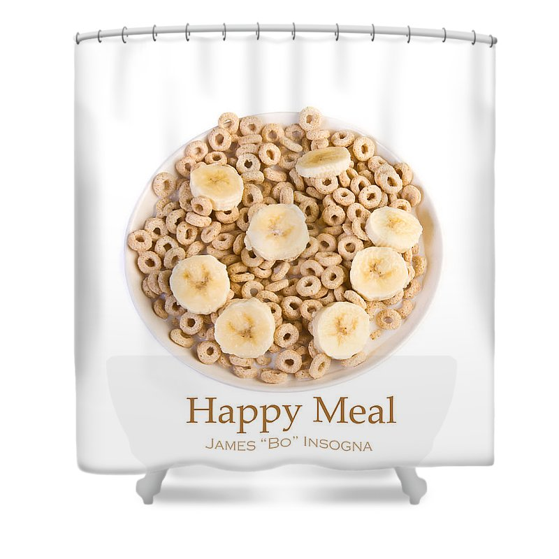 Cereal Shower Curtain featuring the photograph Happy Breakfast Fine Art Poster by James BO Insogna