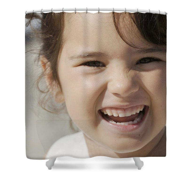 Happy Contest Shower Curtain featuring the photograph Happy Contest 10 by Jill Reger