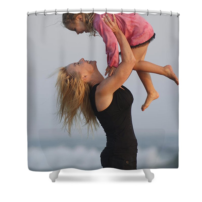 Happy Contest Shower Curtain featuring the photograph Happy Contest 12 by Jill Reger