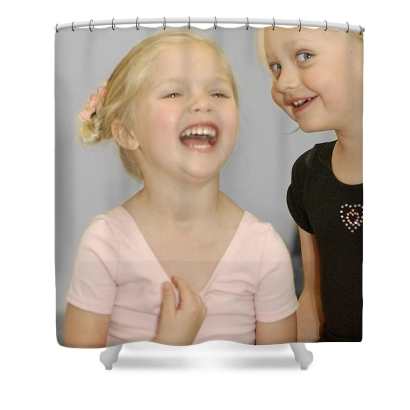 Happy Contest Shower Curtain featuring the photograph Happy Contest 13 by Jill Reger