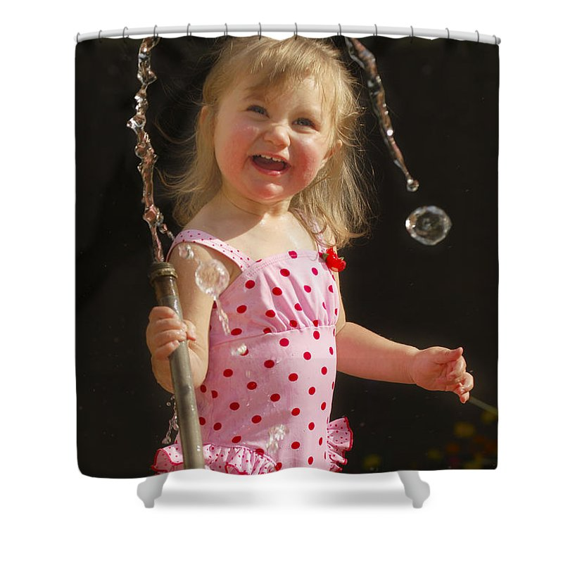 Happy Contest Shower Curtain featuring the photograph Happy Contest 2 by Jill Reger