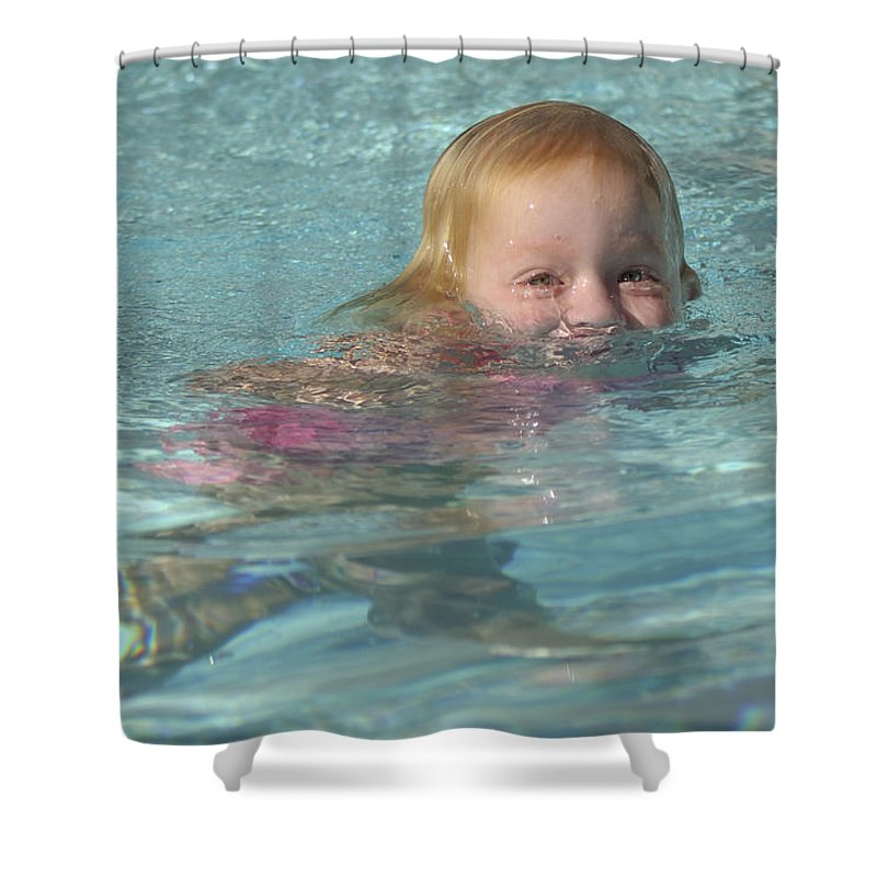 Happy Contest Shower Curtain featuring the photograph Happy Contest 4 by Jill Reger
