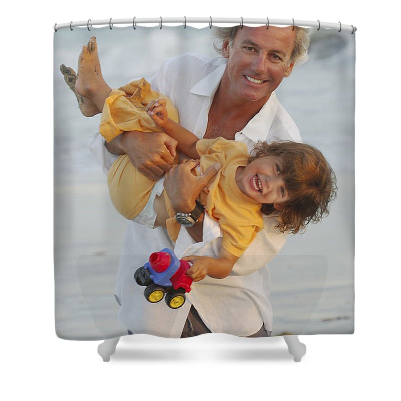 Happy Contest Shower Curtain featuring the photograph Happy Contest 5 by Jill Reger