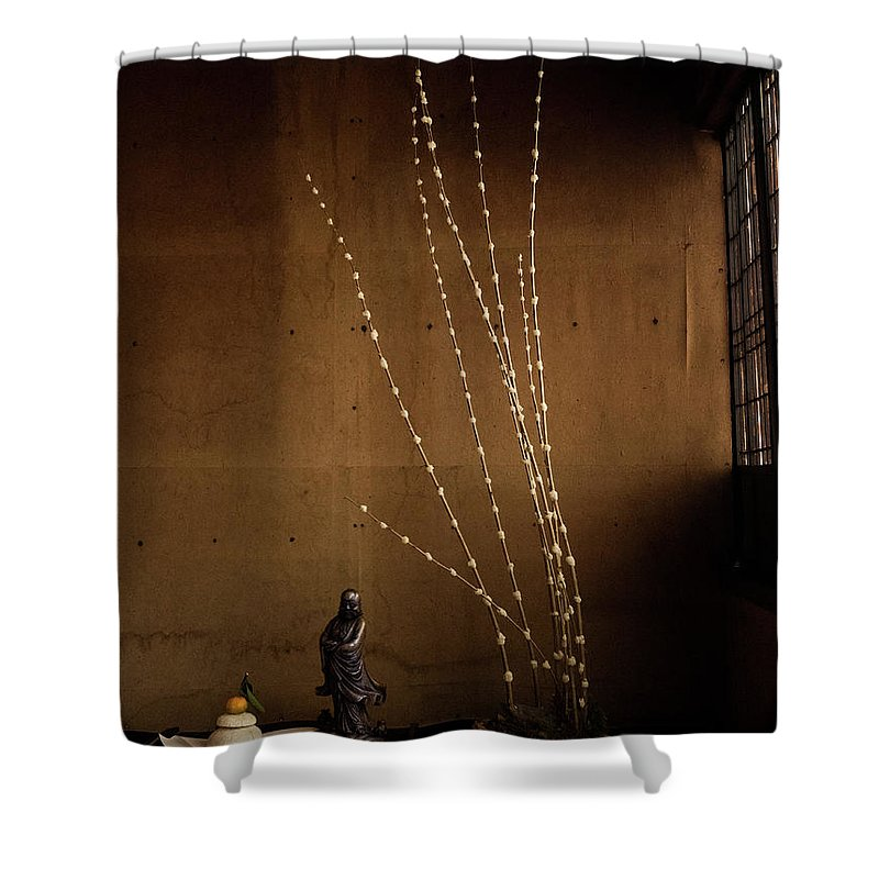 New Year Shower Curtain featuring the photograph Happy New Year by Mike Agentis