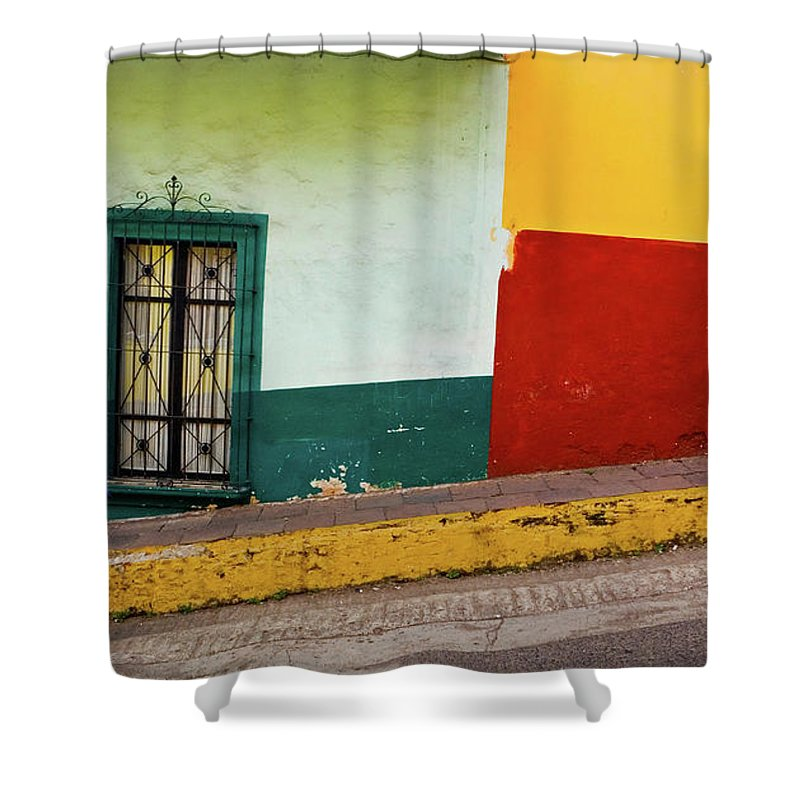 Man Shower Curtain featuring the photograph Hard Knock Life by Skip Hunt