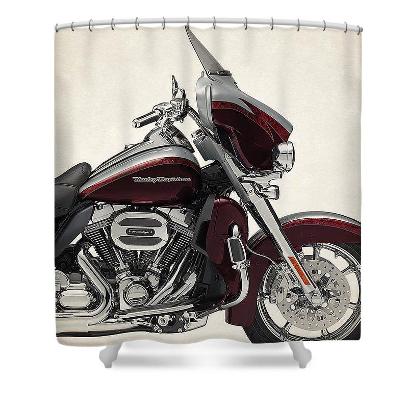 Harley Davidson Limited 2015a Shower Curtain For Sale By Stephanie Hamilton