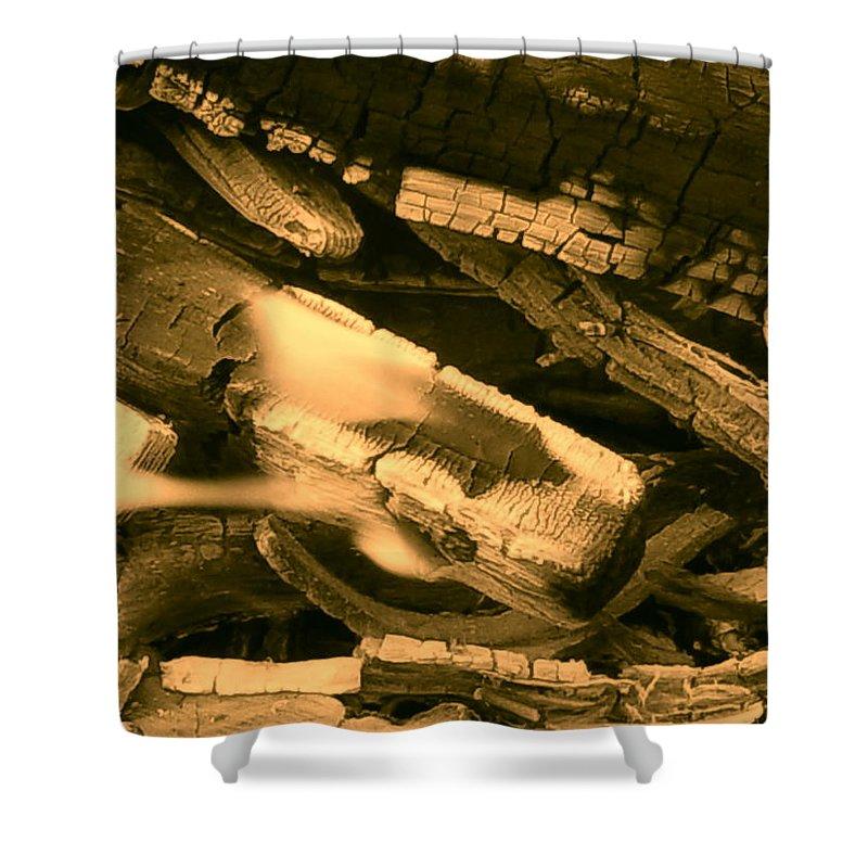 Orphelia Aristal Shower Curtain featuring the photograph Harmony I I by Orphelia Aristal