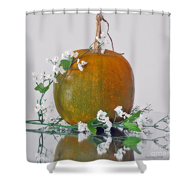 Photography Shower Curtain featuring the photograph Harvest by Shelley Jones