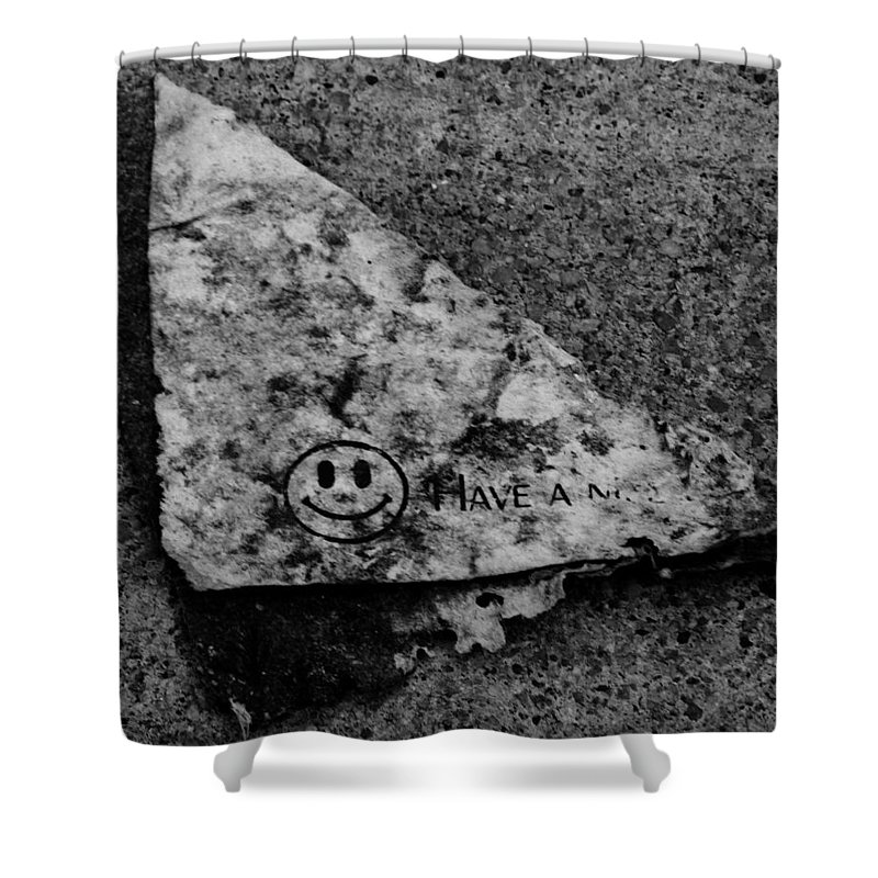 Debris Shower Curtain featuring the photograph Have A Nice Day by Angus Hooper Iii