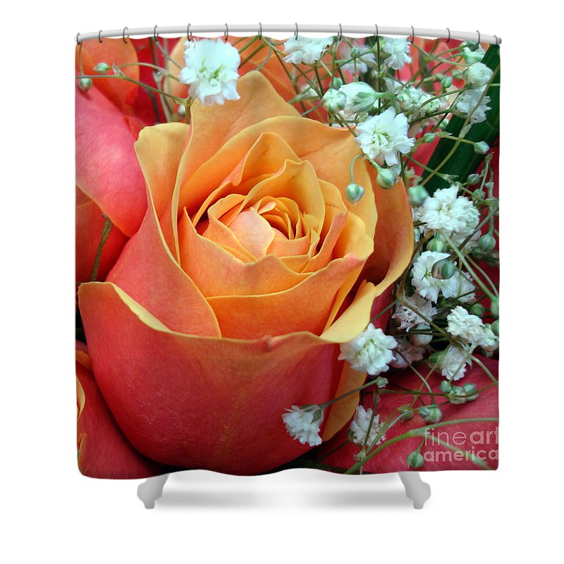 Kathy Bucari Shower Curtain featuring the photograph Have I Told You Lately That I Love You by Kathy Bucari