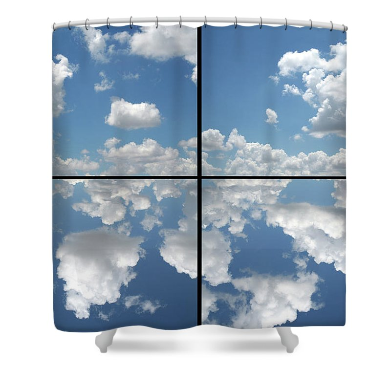 Heaven Shower Curtain featuring the photograph Heaven by James W Johnson