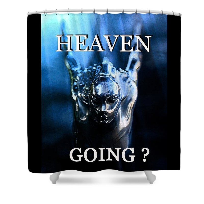 Heaven Shower Curtain featuring the photograph Heaven T Poster #1 by David Lee Thompson