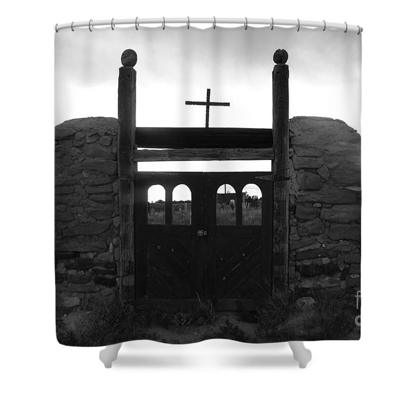 Heaven Shower Curtain featuring the photograph Heaven's Gate by David Lee Thompson