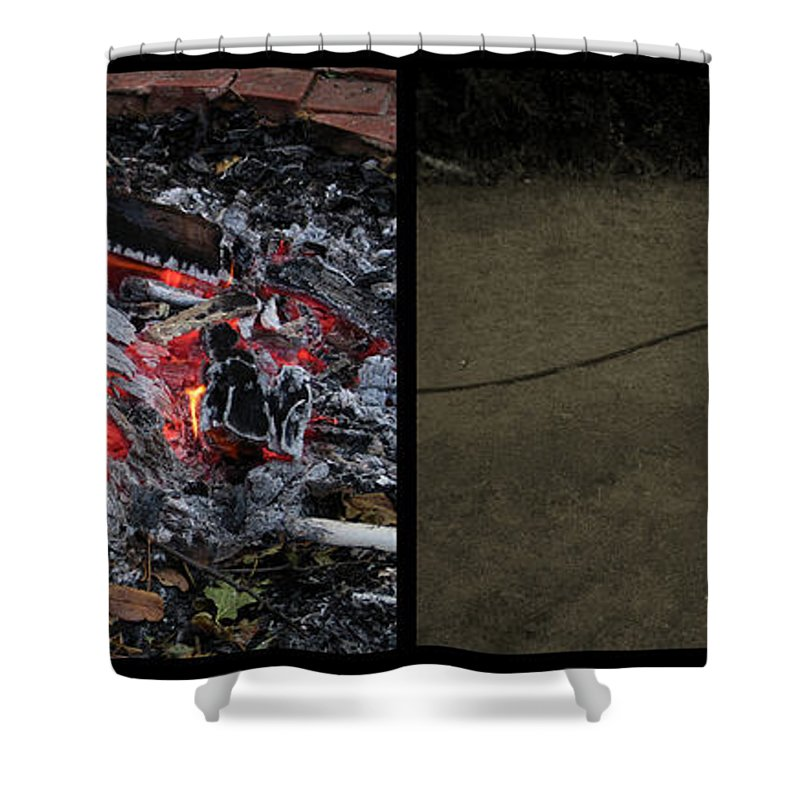 Hell Shower Curtain featuring the photograph Hell by James W Johnson