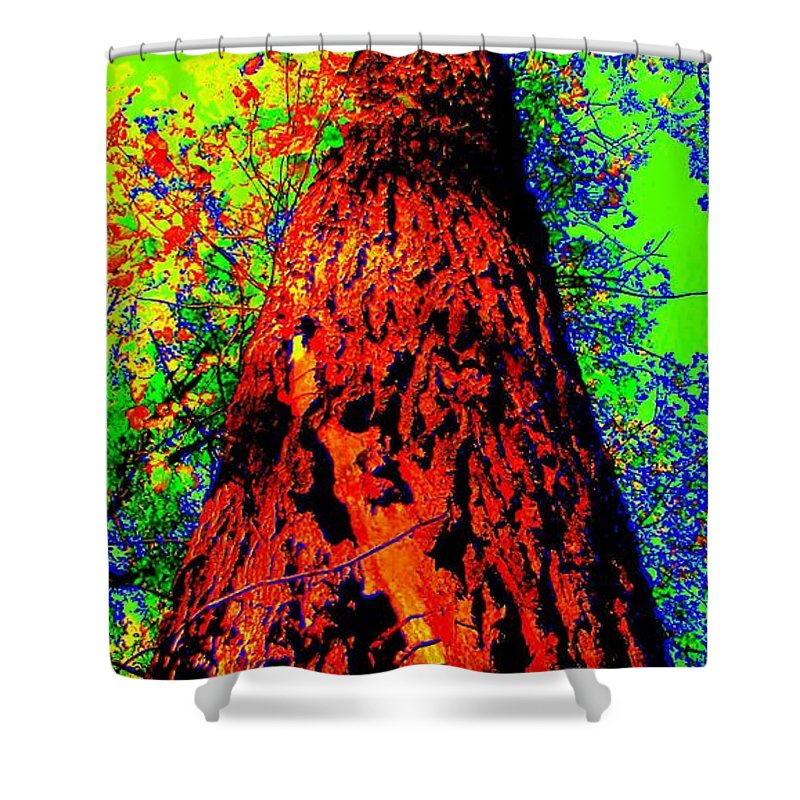Hello Mother Shower Curtain featuring the photograph Hello Mother by Ed Smith
