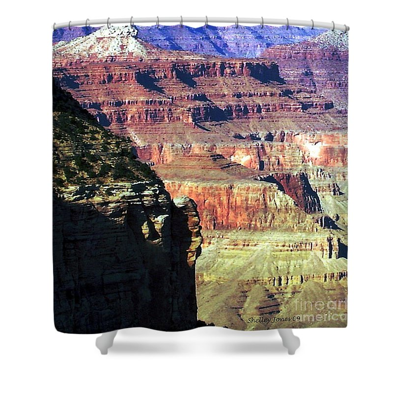 Photograph Shower Curtain featuring the photograph Heritage by Shelley Jones