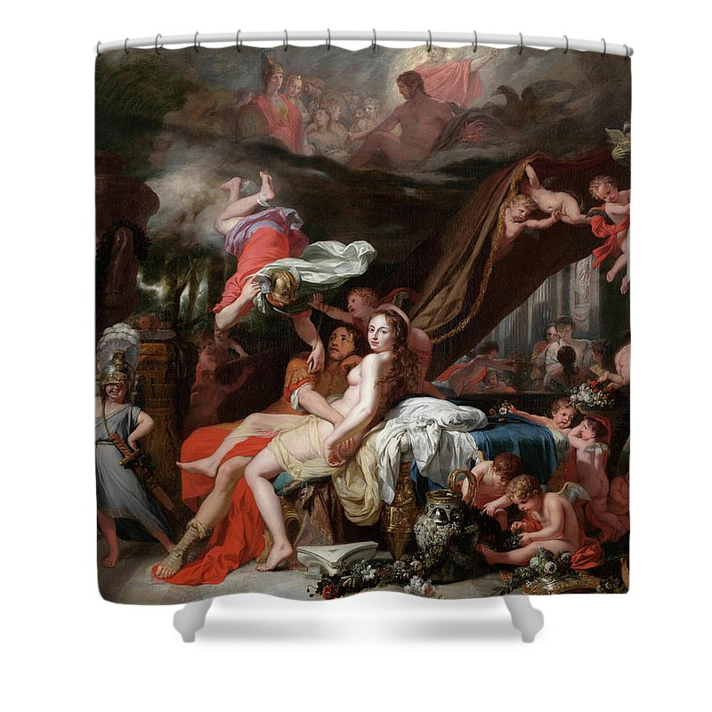 Olympian Gods Shower Curtains