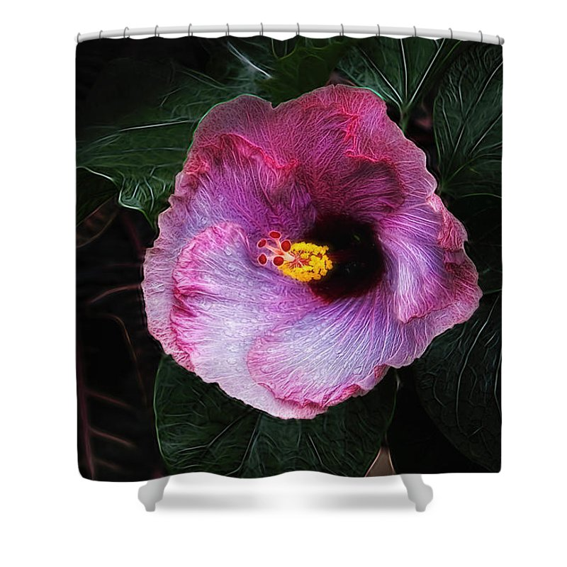 Hibiscus Shower Curtains