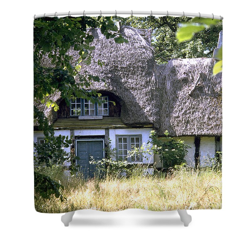 Denmark Shower Curtain featuring the photograph Hidden Beauty by Flavia Westerwelle