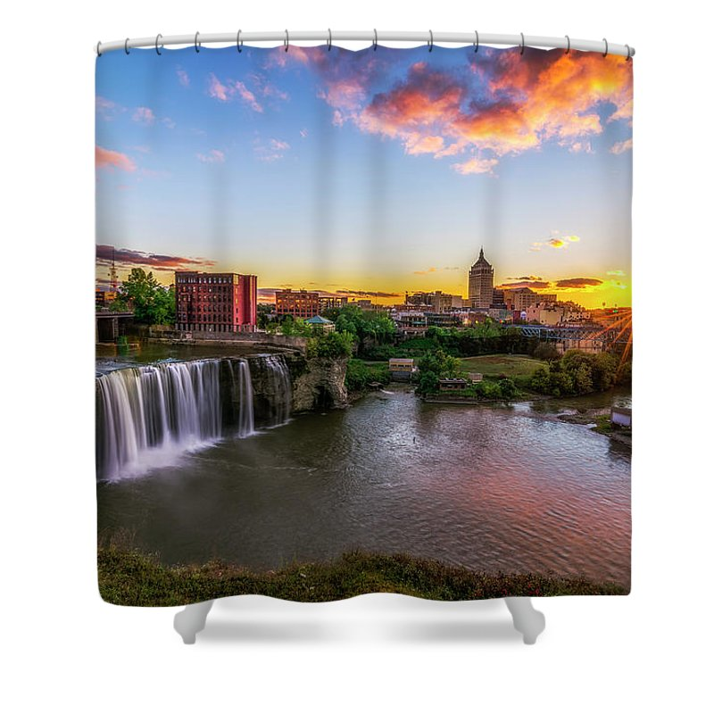 Monroe County Shower Curtains