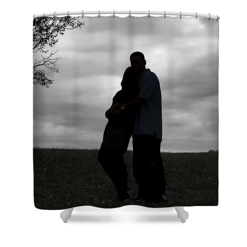 Love Shower Curtain featuring the photograph Hill Top Love by Kristie Bonnewell